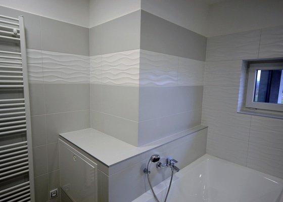 Realizace koupelny, Wc a pokládka dlažeb v novostavbě