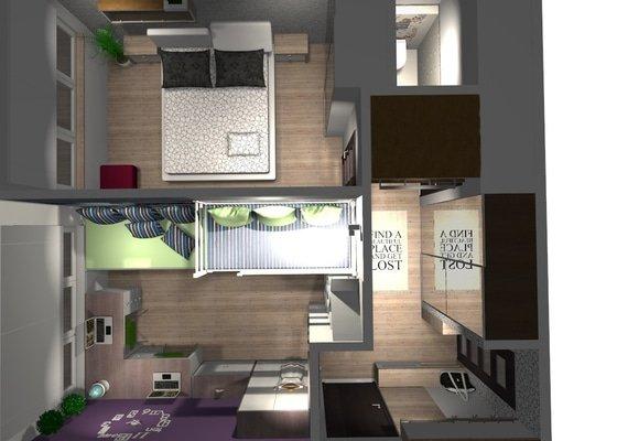 Kompletní rekonstrukce bytu 3+1