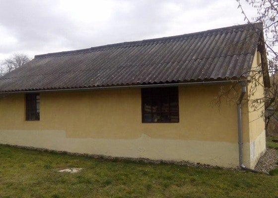 Demolice boudy- projekt