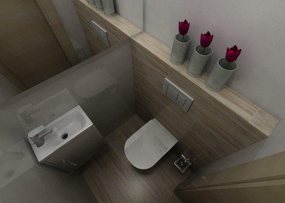 Dokončení koupelny/wc