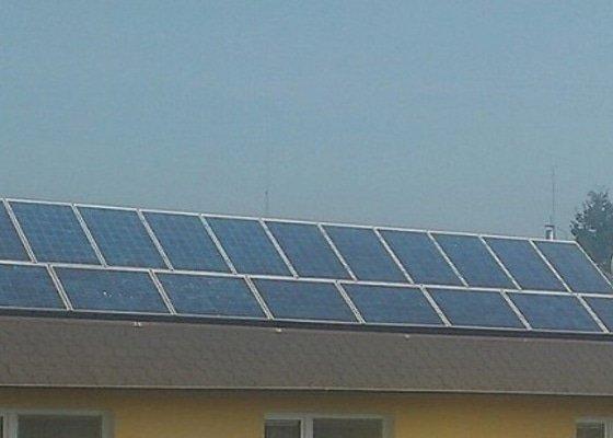 Montáž fotovoltaické elektrárny