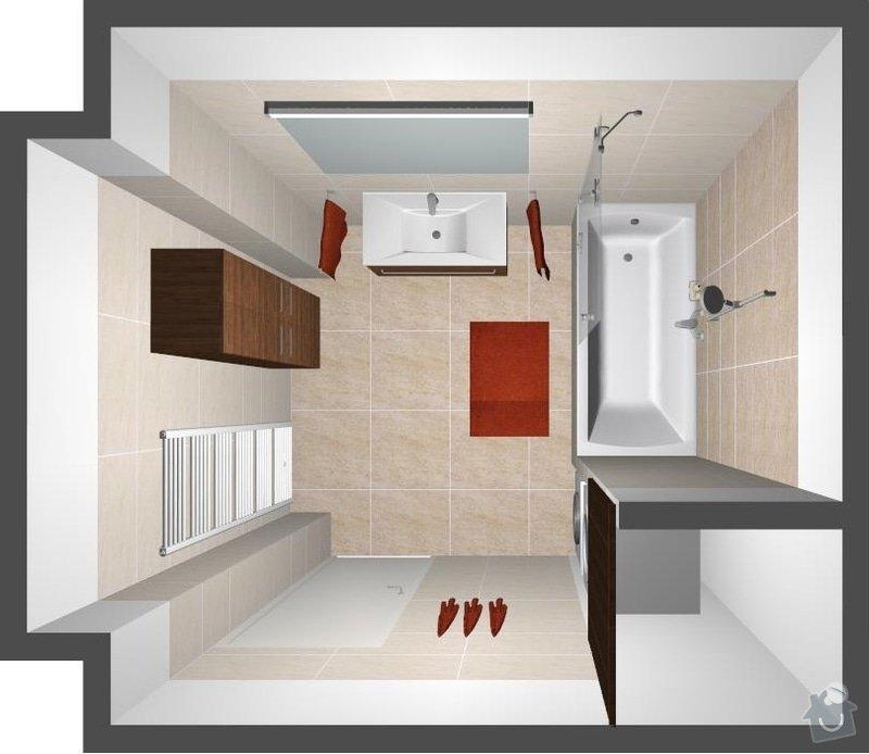 Celková rekonstrukce bytu : var3_pohled_9