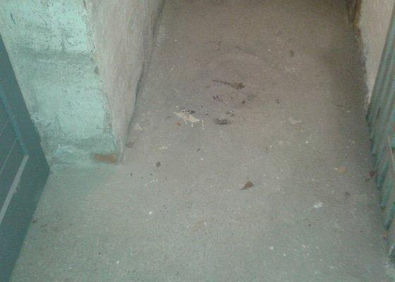 Oprava omítek a podlahy