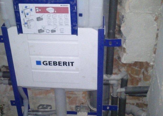 Rekonstrukce vody a části ústředního topení, výměna kotle
