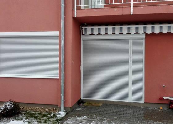 Montáž venkovních okenních rolet