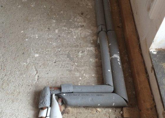 Odstranění podlahového konvektoru