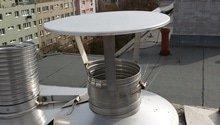 Vložení PU vložky do komína a revize vytvořené spalinové cesty