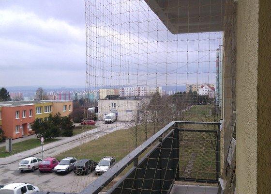 Síť na balkon (okno) pro kočky