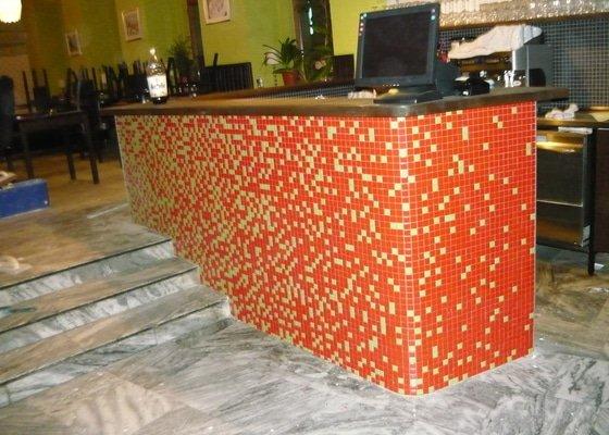 Obložení mozaikou