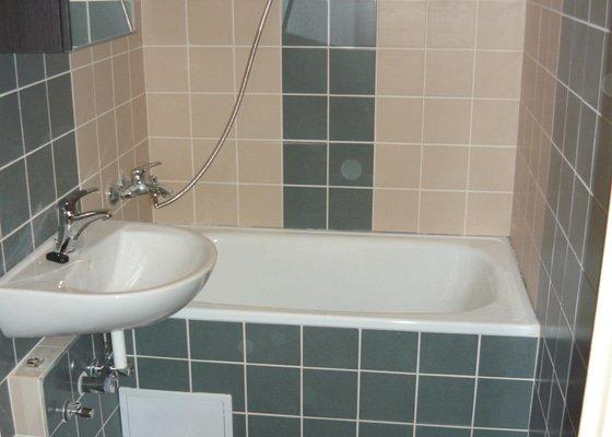 Rekonstrukce male koupelny