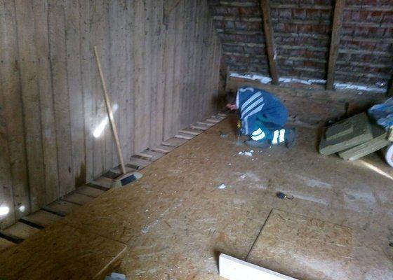 Montáže podlah, sádrokartonů vč.zateplení, malby a nátěry