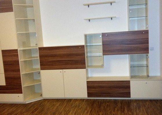 Obývací pokoj - návrh nábytku, popř. interiéru, a jeho výroba