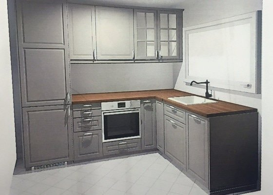 Priprava + montaz kuchynske linky Ikea