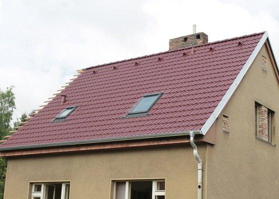 Rekonstrukce střechy Čelákovice