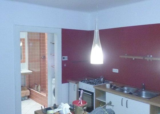 Malířské práce/ 1 pokoj,kuchyň,chodba,WC a strop koupelny
