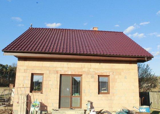 Kompletní střecha a podbití na klíč