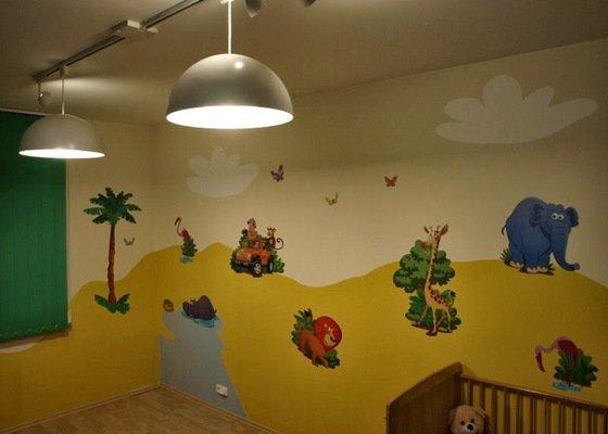 Kresba dětského pokoje