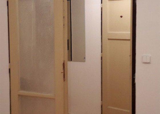 Natreni dveri a pripadne vymena skla
