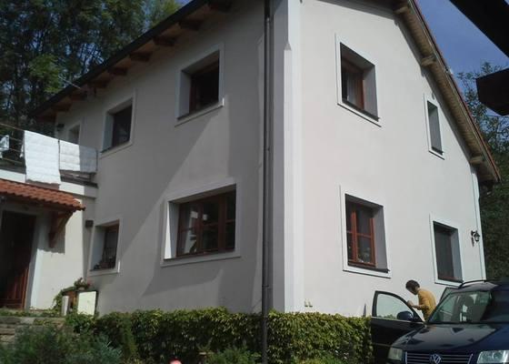 Renovace lazurovaných oken.