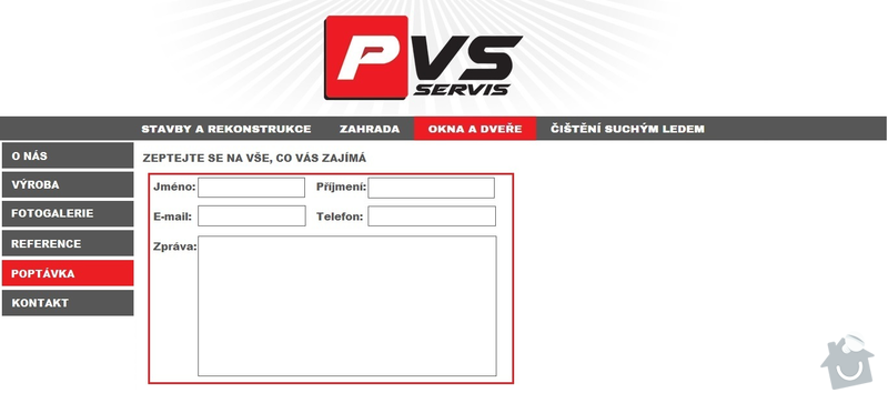 Tvorba webových stránek: 6._POPTAVKA