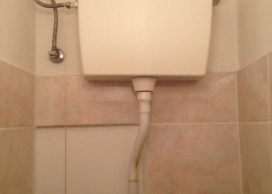 Výměna nádrže WC