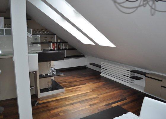 Interiér bytu - Praha 2