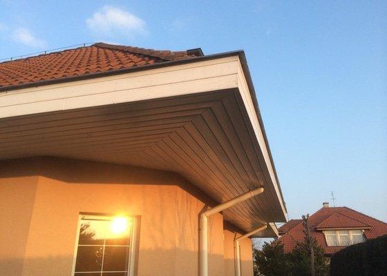 Výměna podbití střechy na rodinném domku