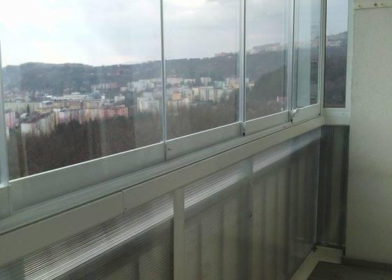 Zasklení balkonu