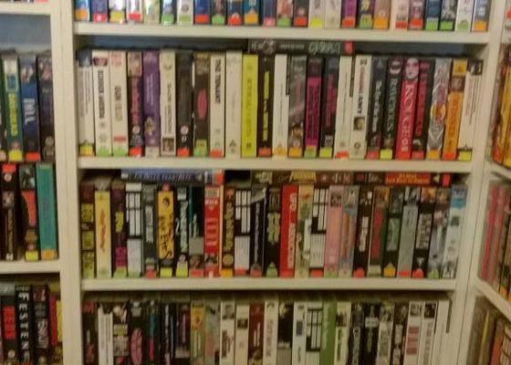 Výroba knihovny na kazety