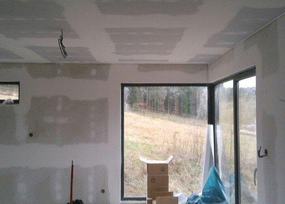 Sadrokartonvy zatepleny strop