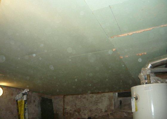Zednické práce - zateplení stropu