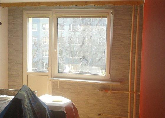 Zajímavé řešení , rekonstrukce 2 pokojů