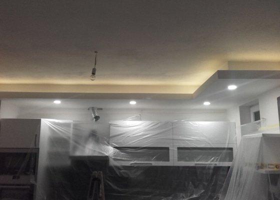 SDK podhled do kuchyne s osvetlenim - cca 5m2