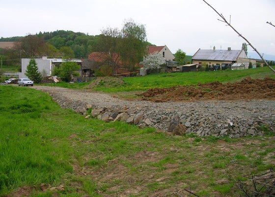 Pokládka zámkové dlažby 105 m2