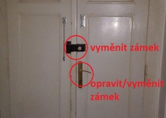 Zámečník - zabezpečení vchodových dveří
