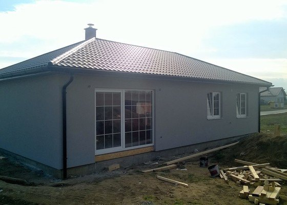 Stavba rodinného domu - bungalow