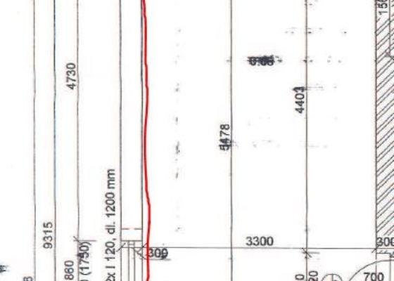 Rozvod plynu o plynoměru ke kotli