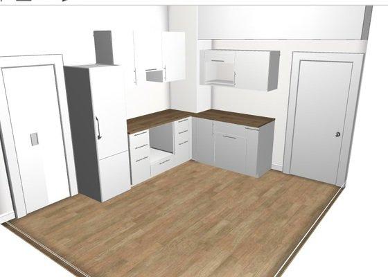 Dokončení montáže kuchyně Ikea