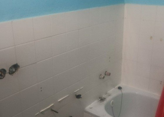 Rekonsrtrukce  koupelny za 4 dny    Brno