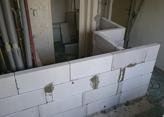 Kompletní rekonstrukce bytu 2+1 Brno Lesná