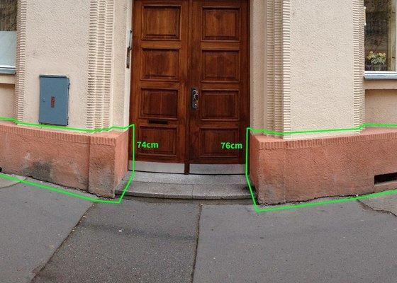 Malá oprava fasády činžovního domu