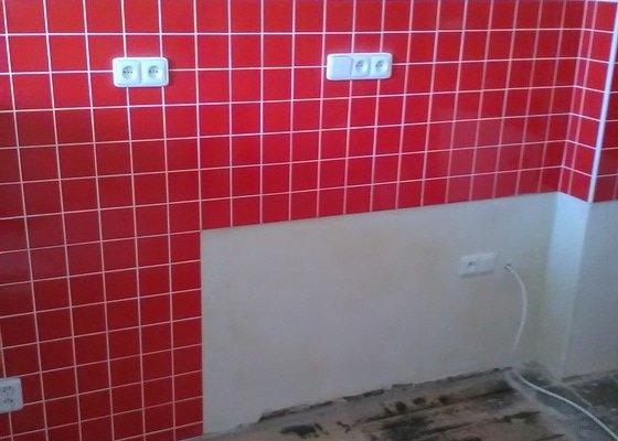 Rekonstrukce koupelny, kuchyně,nová elektroinstalace