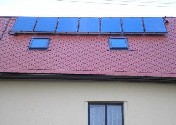 Instalace solárních panelů
