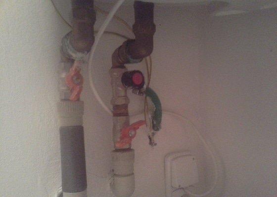 Instalatér: montáž redukčního ventilu na bojler