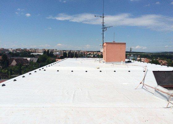 Nový střešní plášť PVC