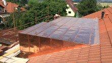 Plechová střecha Cu