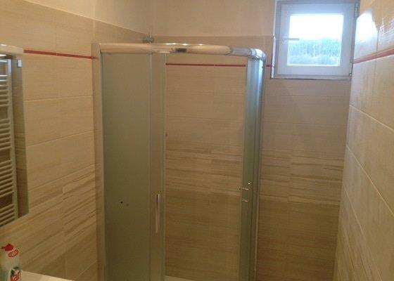 Rekonstrukce koupelny a WC v rodinném domě
