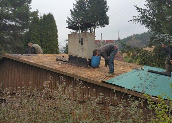 Výměna střešní asfaltové krytiny