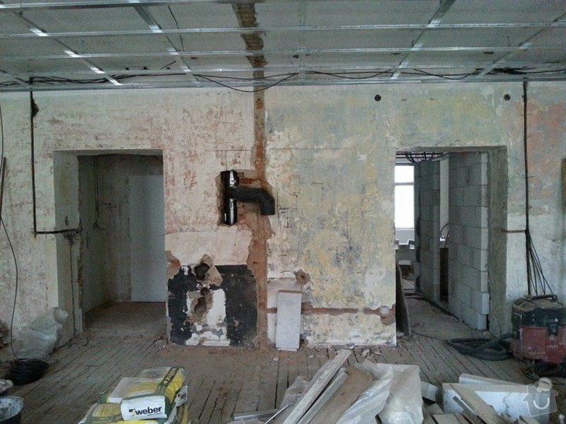 Rekonstrukce bytu, Praha 10, 90m2.: KOR13