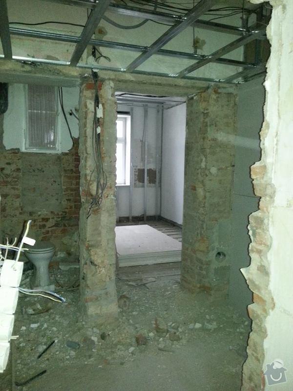 Rekonstrukce bytu, Praha 10, 90m2.: KOR15